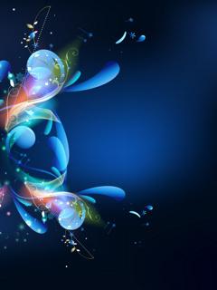 Blue Mobile Wallpaper
