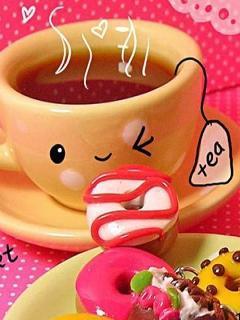 Cup Of Tea Mobile Wallpaper