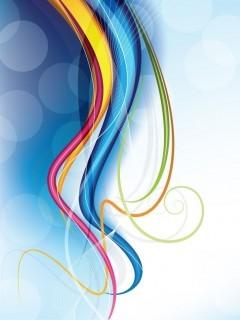 Modern Colors Mobile Wallpaper