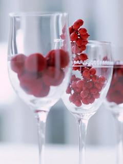 Red Berries Mobile Wallpaper