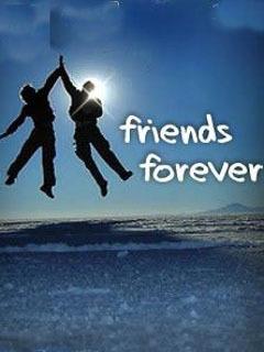 Friends Forever Mobile Wallpaper