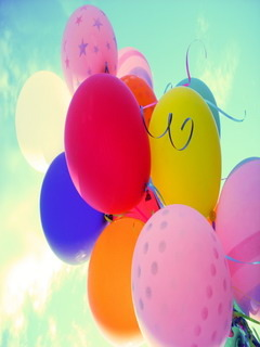 Balloons Mobile Wallpaper
