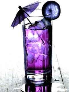 Purple Drink Mobile Wallpaper