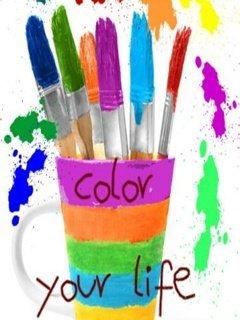 Color Pencils Mobile Wallpaper