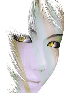 Eyes White Face Mobile Wallpaper