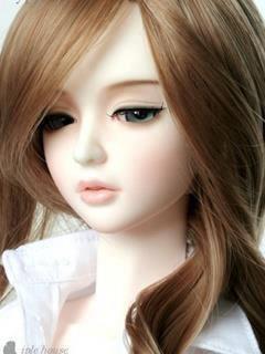 Cute Doll Girl Mobile Wallpaper