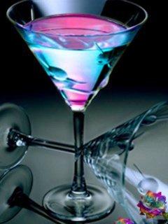 3D Drinks Mobile Wallpaper