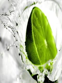 Green Lemon Mobile Wallpaper