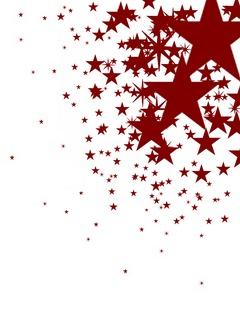 Red Stars Mobile Wallpaper