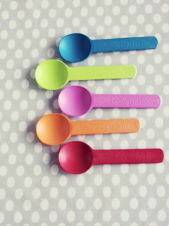 Colorful Spoons Mobile Wallpaper