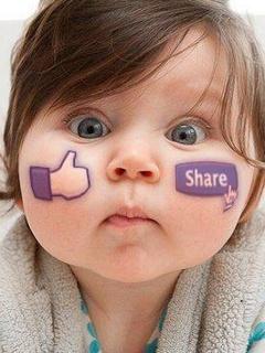 Facebook Face Mobile Wallpaper