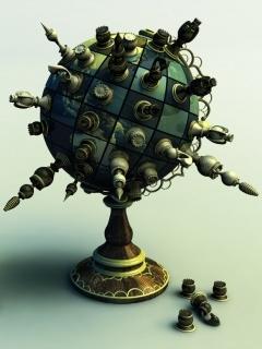 Chess World Mobile Wallpaper