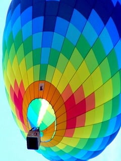Colorful Air Balloon Mobile Wallpaper