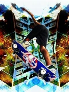 Skate And Design Mobile Wallpaper