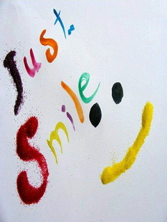 Just Smile Mobile Wallpaper