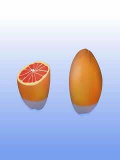 Two Grape Fruits Mobile Wallpaper