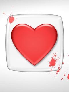 Nice Heart Mobile Wallpaper
