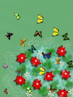 Butterflies Mobile Wallpaper