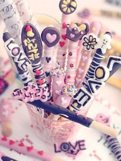 Love Candy Mobile Wallpaper