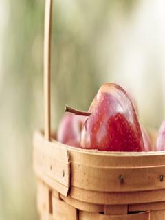 Apple Basket Mobile Wallpaper