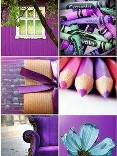Cute Purple Mobile Wallpaper