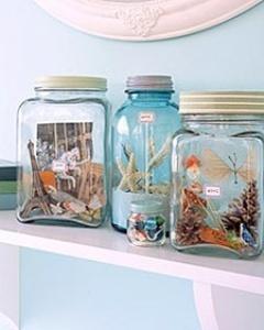 Vacation Memory Jars Mobile Wallpaper