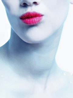 Lips Mobile Wallpaper