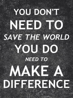 Make Difference Mobile Wallpaper