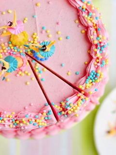 Pink Cake Mobile Wallpaper