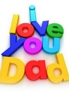 LoveYou Dad Mobile Wallpaper