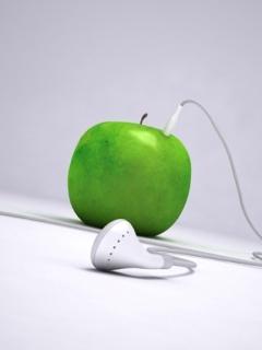 Apple Player Mobile Wallpaper