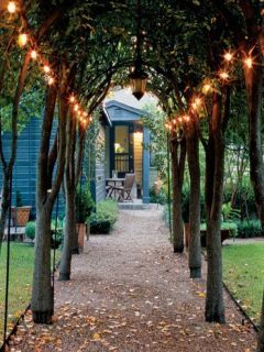 Outdoor Cottage Ambiance Mobile Wallpaper