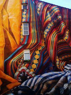 Mural Painted Mobile Wallpaper