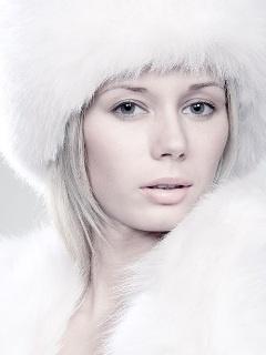 White Beauty Mobile Wallpaper
