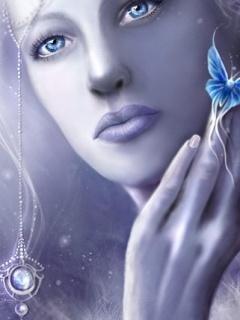 Ice Queen Mobile Wallpaper