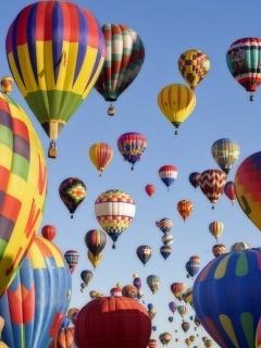 Balloons Mobile Wallpaper