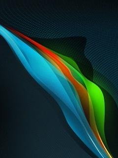 Nokia Colors Wave Mobile Wallpaper