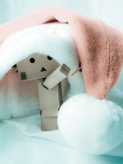Santa Danbo Mobile Wallpaper