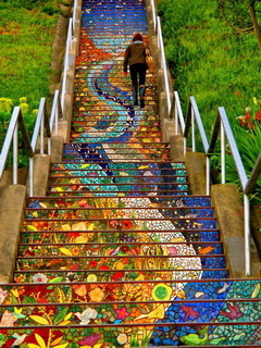 Steps Art Design Mobile Wallpaper
