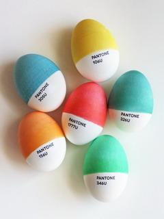 Pantone Eggs Mobile Wallpaper