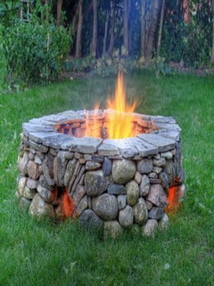 Firepit Bottom Mobile Wallpaper