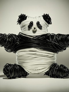 A Mummy Panda Mobile Wallpaper