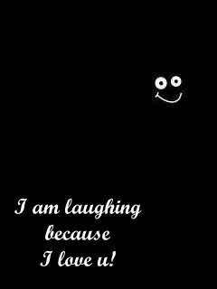 I Am Laughing Mobile Wallpaper