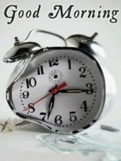 Morning Clock Mobile Wallpaper