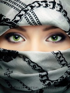 Green Eyes Mobile Wallpaper