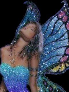 Blue Angel Mobile Wallpaper