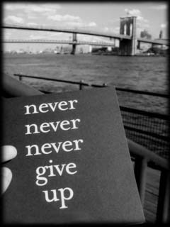 Never Give Up Mobile Wallpaper