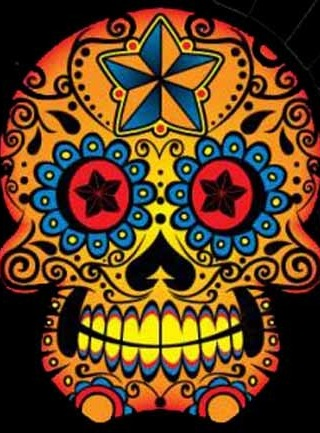 Sugar Skull Mobile Wallpaper