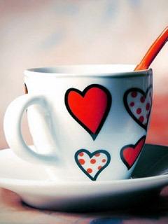 Love Cup Mobile Wallpaper