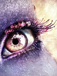 Color Eye Mobile Wallpaper